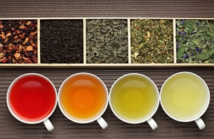The Difference Between Black, Green, White, and Red Teas: The Health Benefits